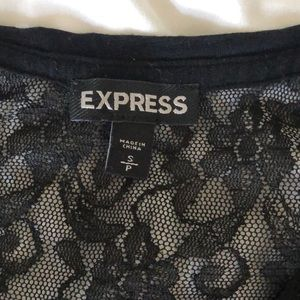 Express sparkle and lace small
